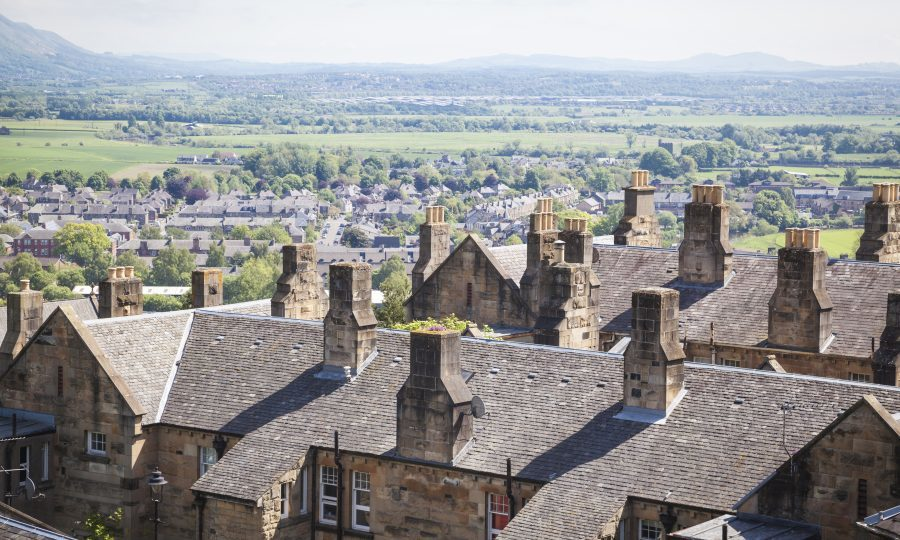 Stirling named most affordable city for house prices in the UK