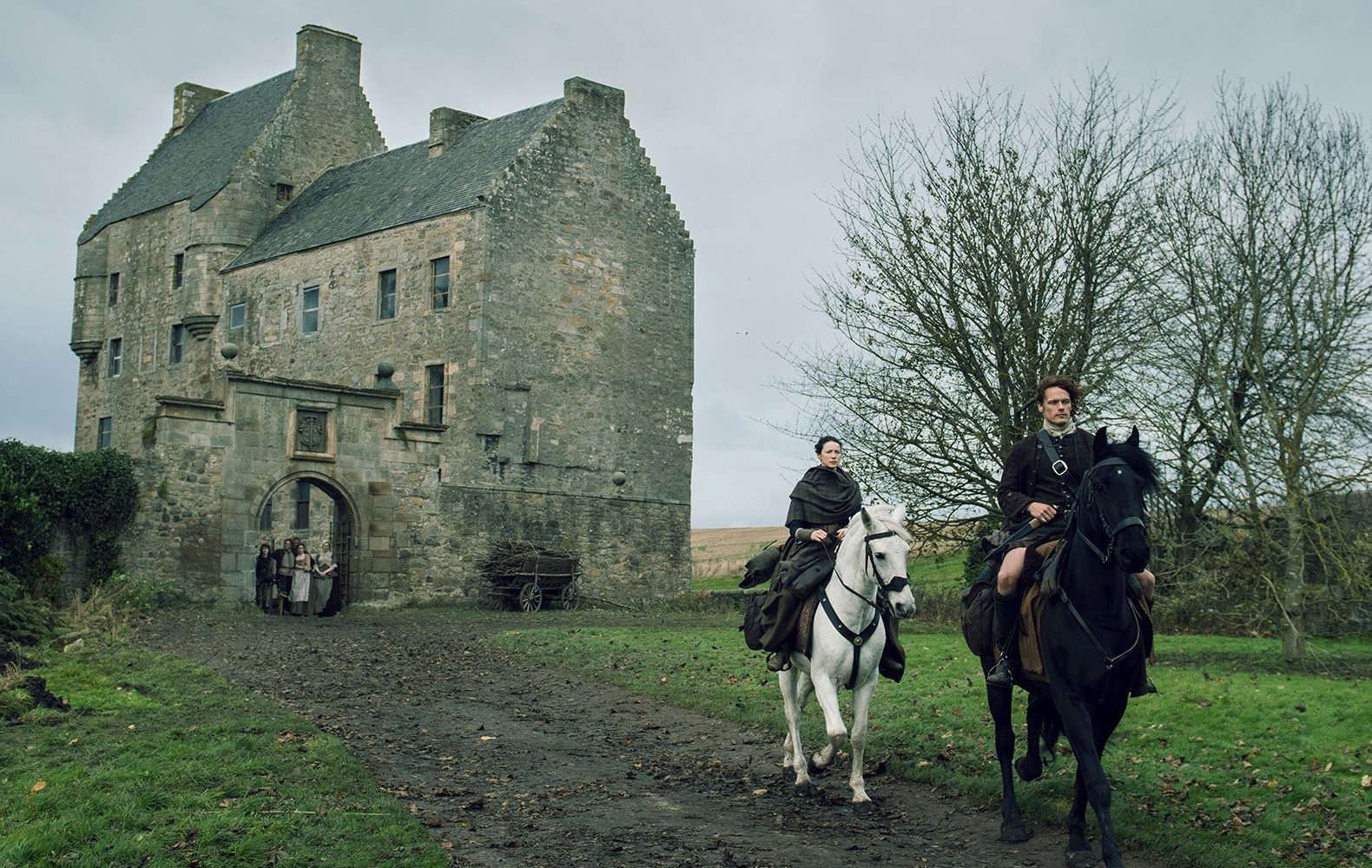 Lallybroch castle is one of the main tourism hotspots in Scotland fuelled by Outlander.