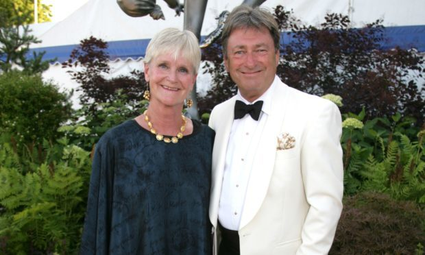 Alan Titchmarsh and wife Alison (Geoffrey Swaine/REX/Shutterstock)