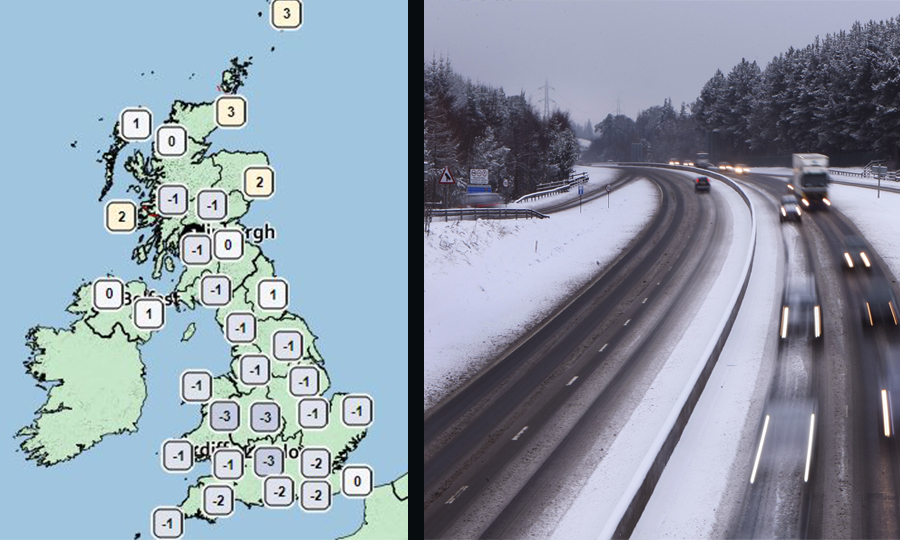 Met Office upgrades snow warning for North East