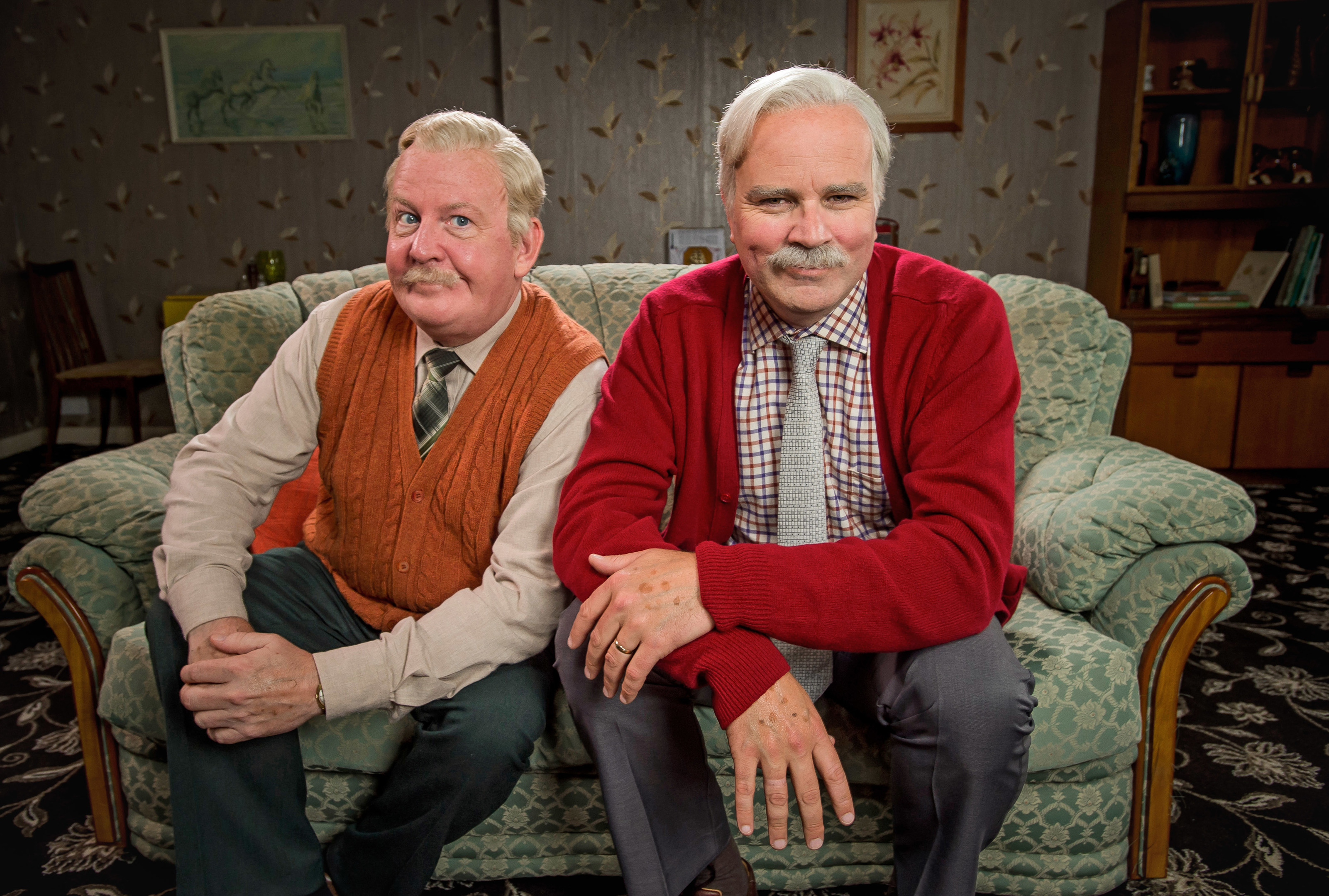 Jack and Victor return to our screens this week (Alan Peebles / BBC)