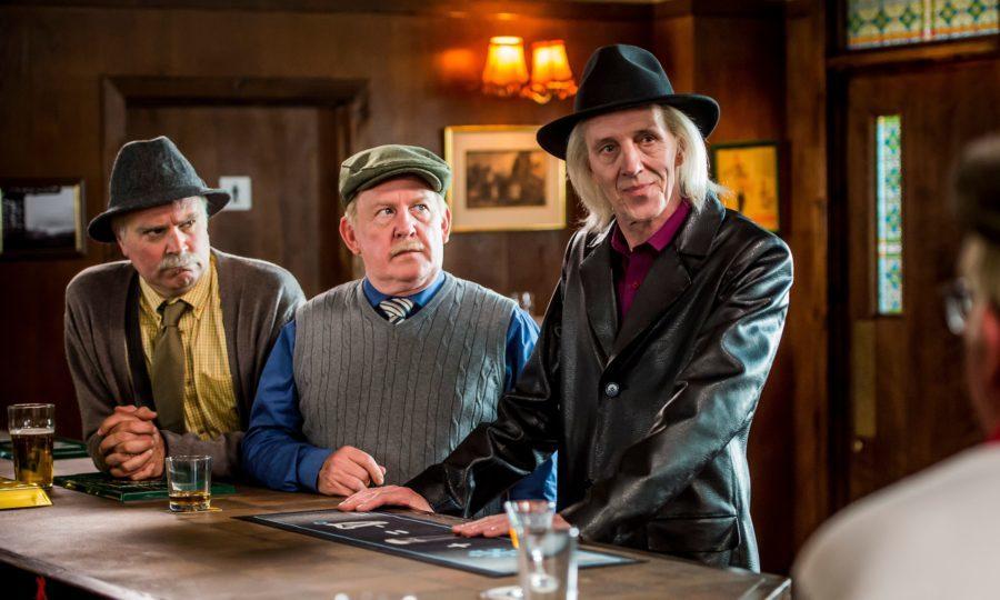 Victor (GREG HEMPHILL), Jack (FORD KIERNAN), Sheathing (BRUCE MORTON) (BBC Studios, Alan Peebles)