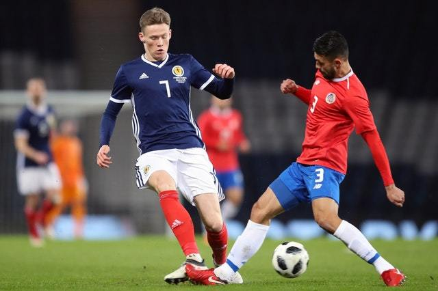 Scott McTominay in action for Scotland (Jane Barlow / PA Wire)