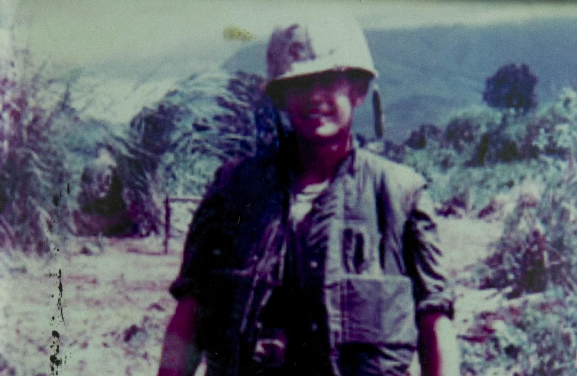 Scot Alexander Chisholm in Vietnam.