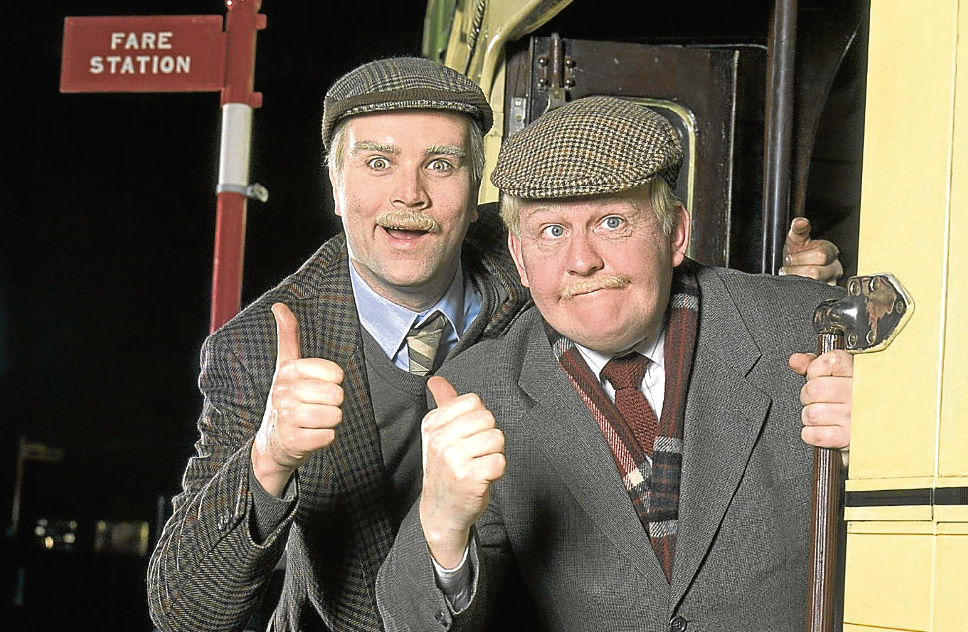Ford Kiernan (right) alongside Greg Hemphill in Still Game (BBC)