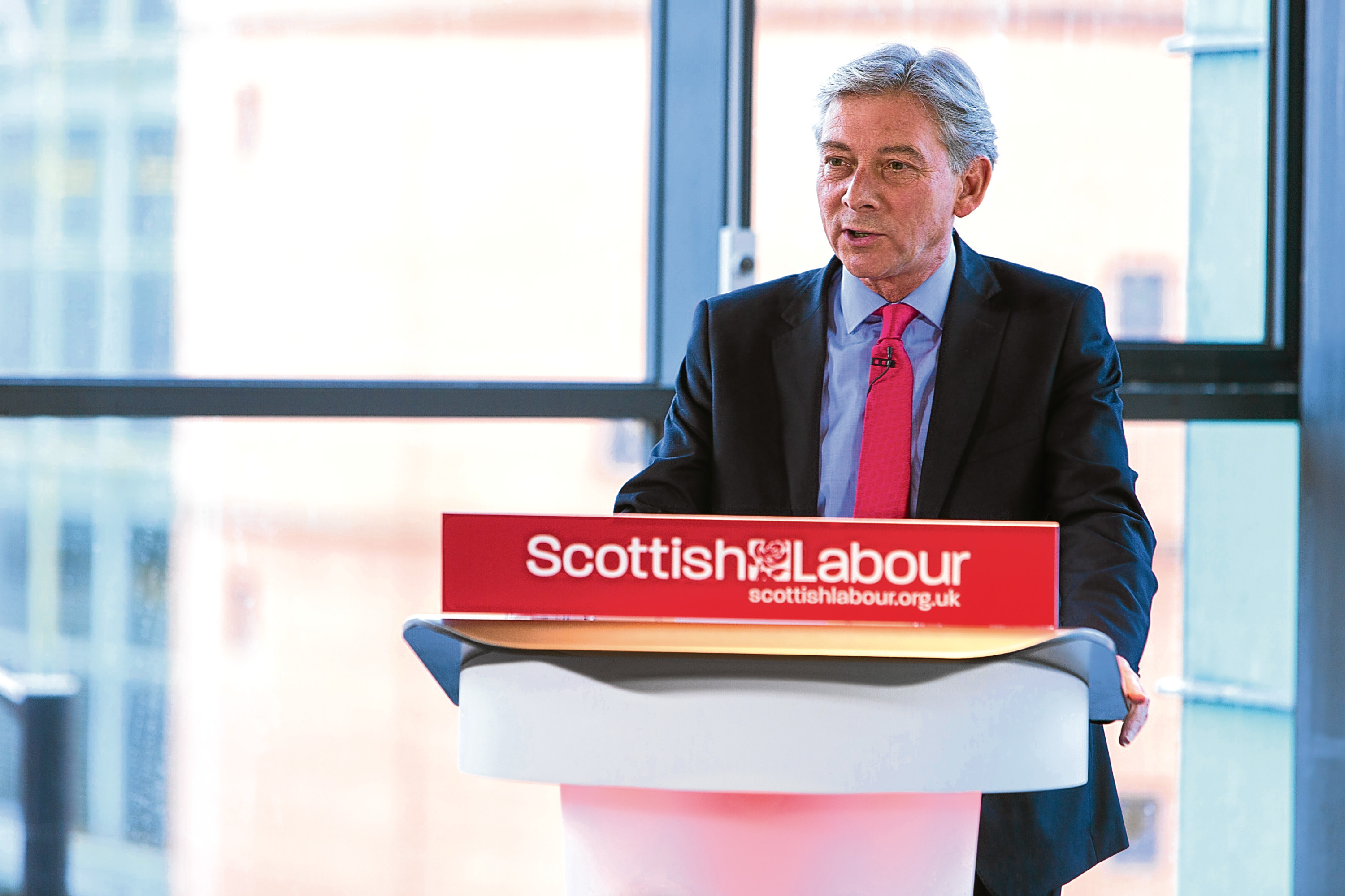 Scottish Labour Leader Richard Leonard (Derek Healey)