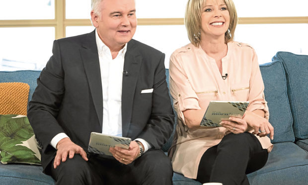 Eamonn Holmes and Ruth Langsford on 'This Morning' (ITV/Ken McKay)