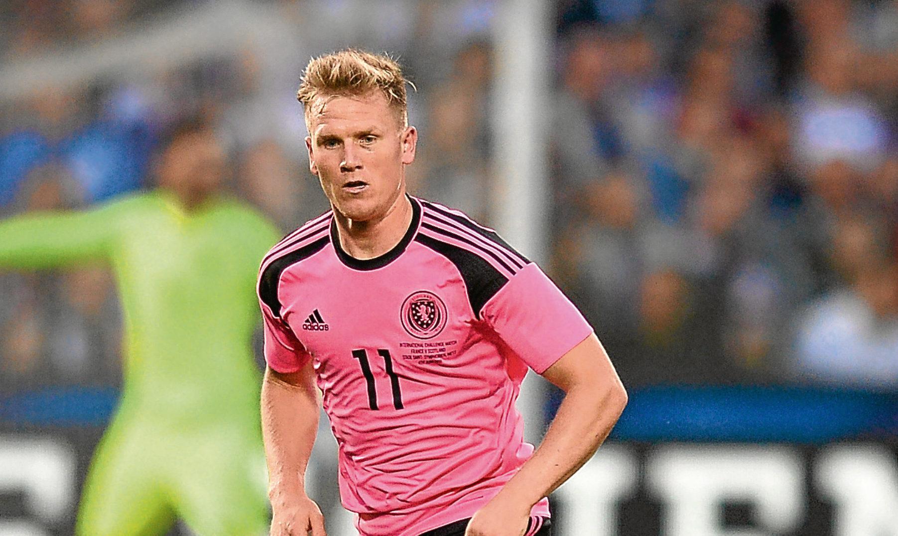 Matt Ritchie of Scotland (Daniel Kopatsch/Getty Images)