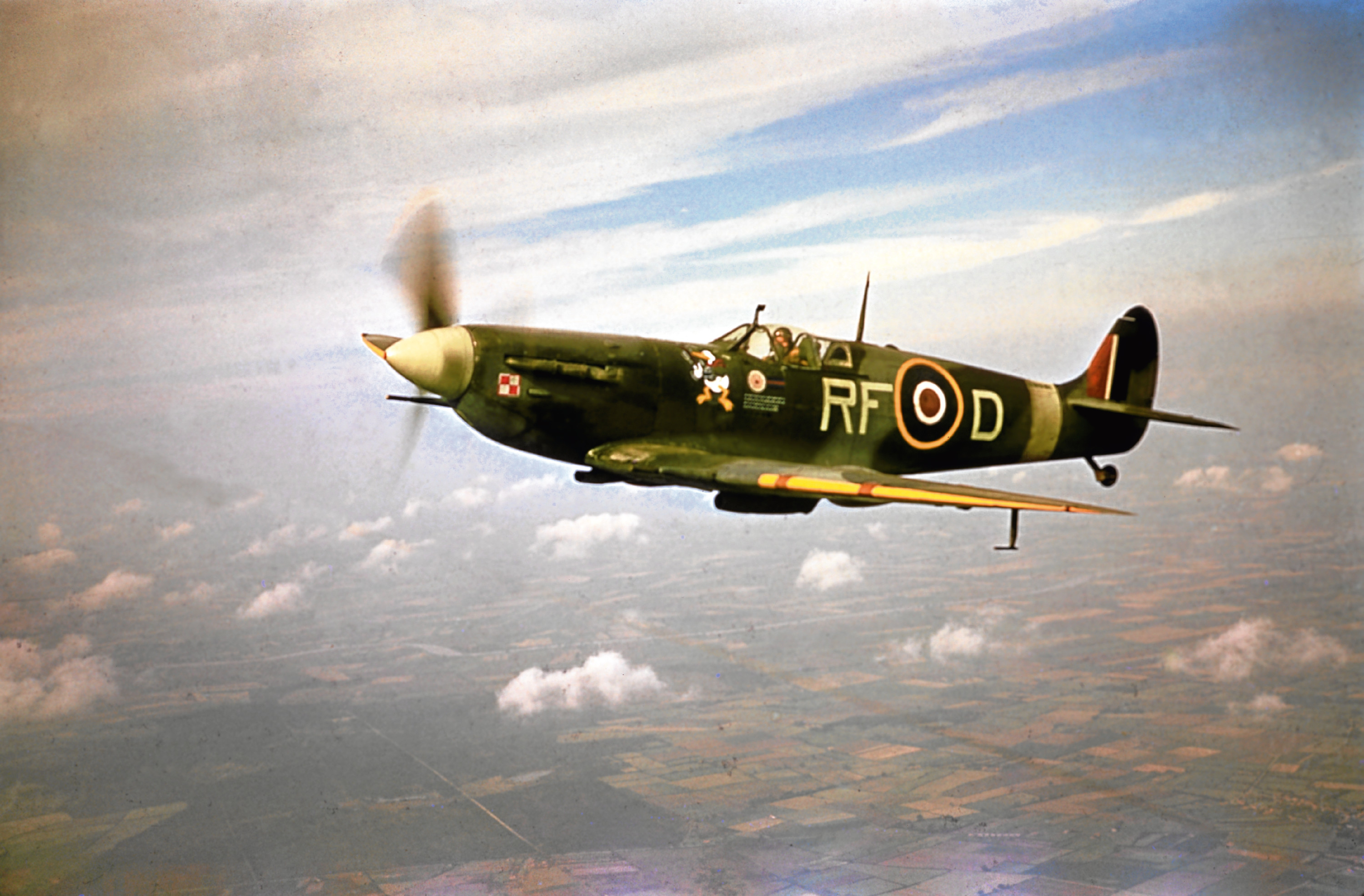 A Supermarine Spitfire (Fox Photos/Hulton Archive/Getty Images)