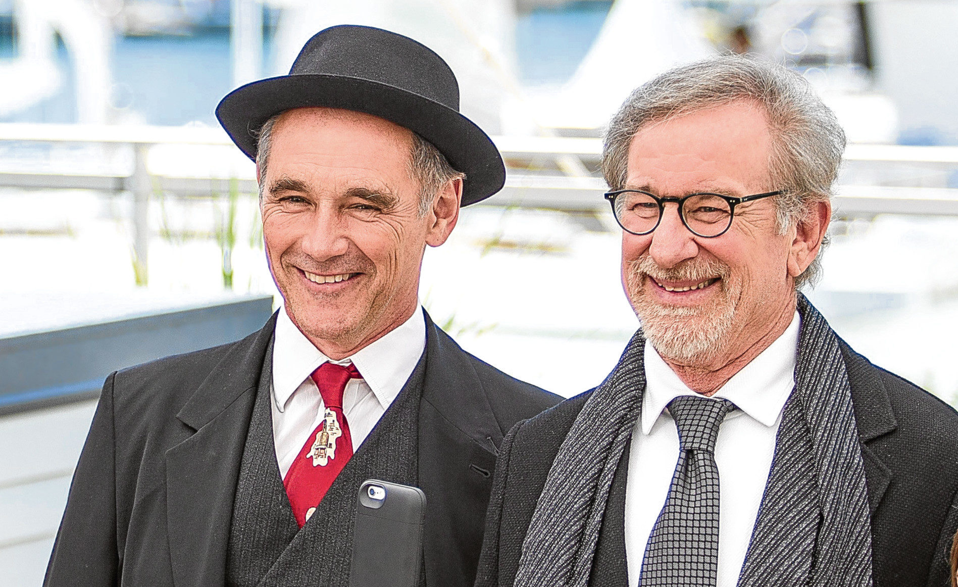 Mark Rylance and Steven Spielberg are now on their third collaboration (Graham Whitby Boot / Allstar Picture Library)
