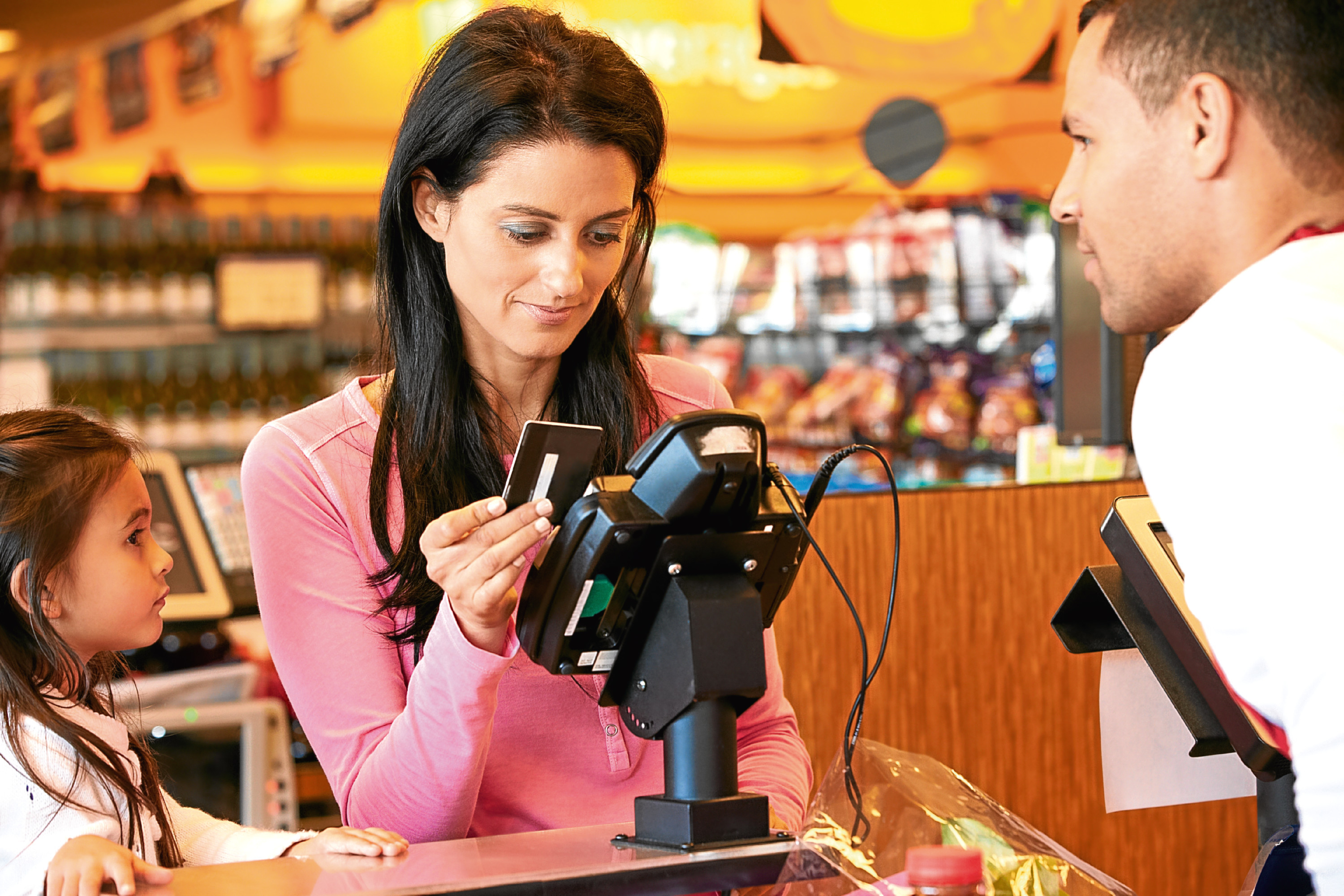 Contactless has increased in popularity (Getty Images)