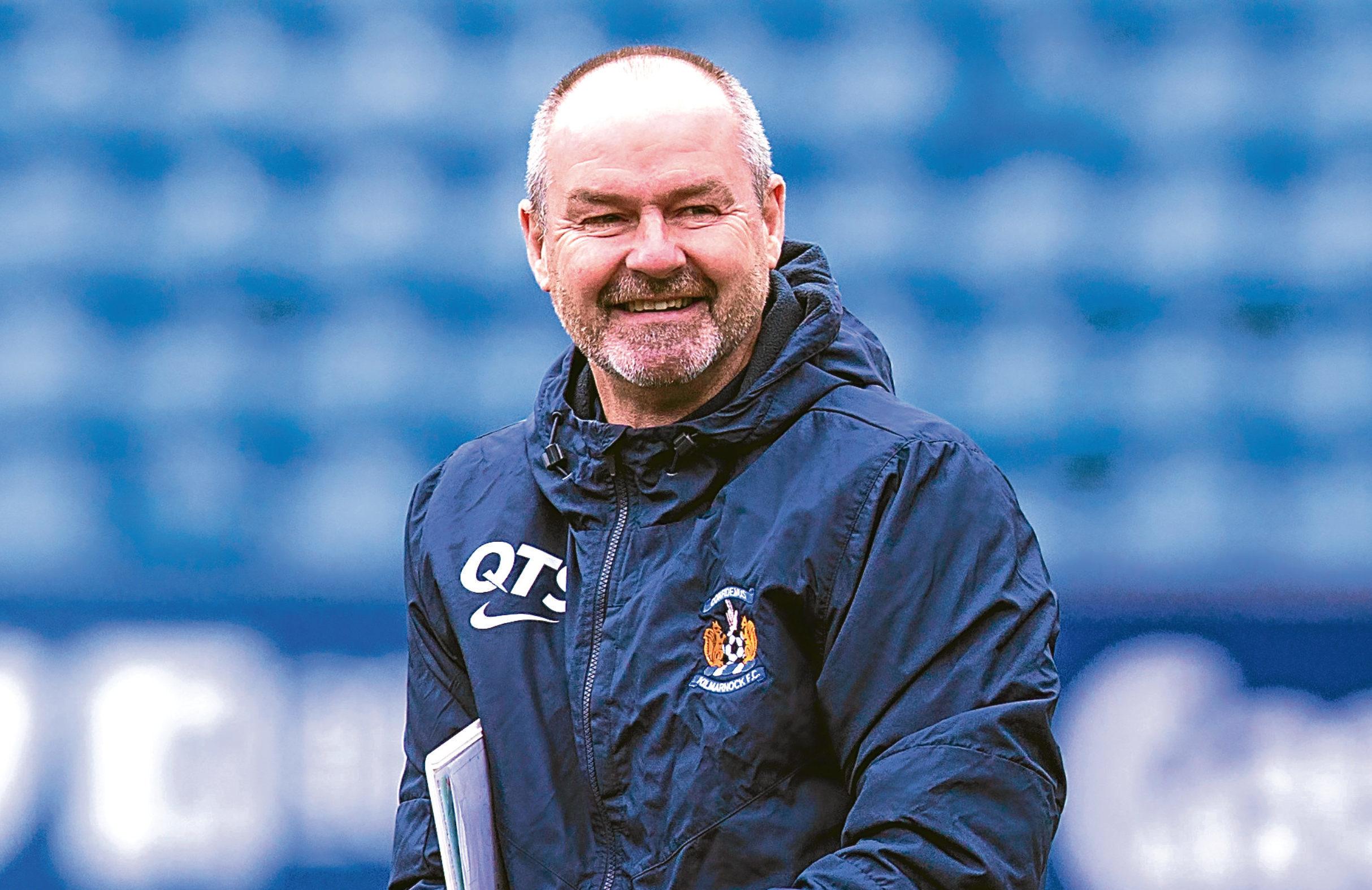 Kilmarnock manager Steve Clarke (SNS Group / Bruce White)