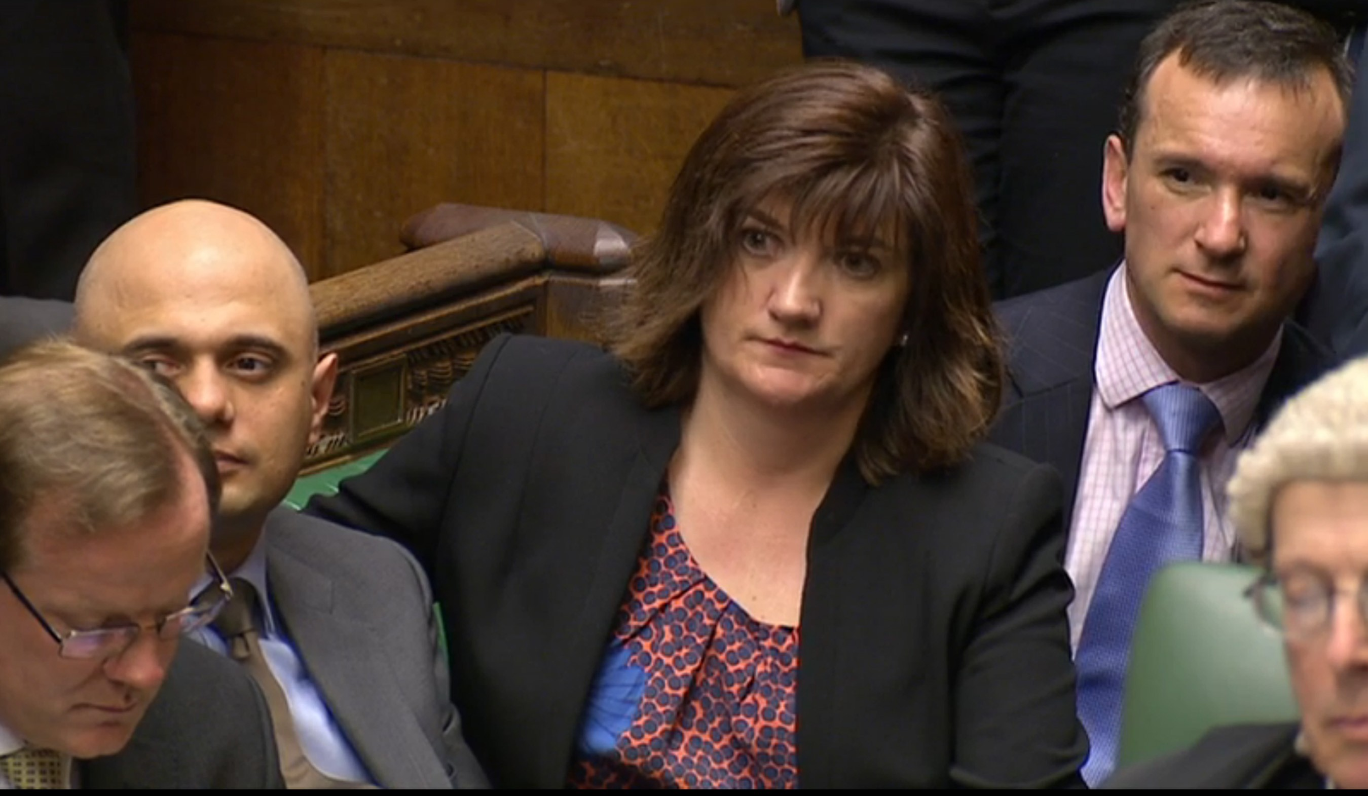 Nicky Morgan, MP and chair of the Treasury Select Committee