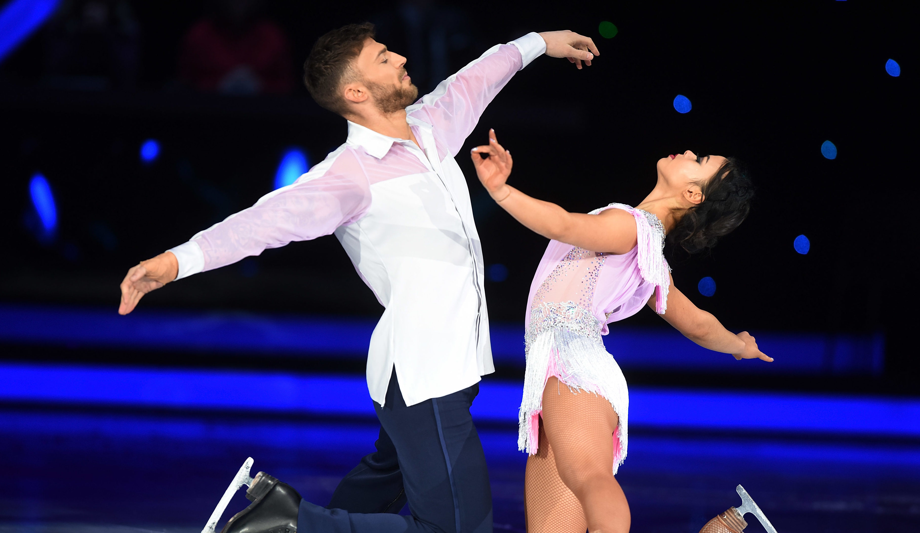 Jake and Vanessa Bauer starring in the Dancing on Ice Live Tour (Dave J Hogan/Getty Images)