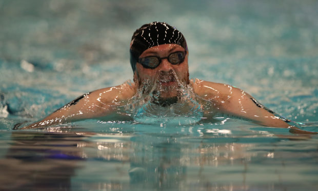 Ross Murdoch of University of Stirling competes in the Men's 200m Breastroke Final during The Edinburgh International Swim meet incorporating the British Championships at The Royal Commonwealth Pool on March 2, 2018 in Edinburgh, Scotland. (Ian MacNicol/Getty Images)