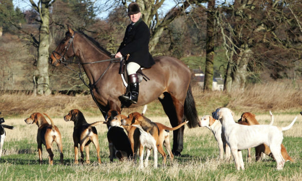 A legal hunt in Selkirk, Scotland (Photo by Christopher Furlong/Getty Images)