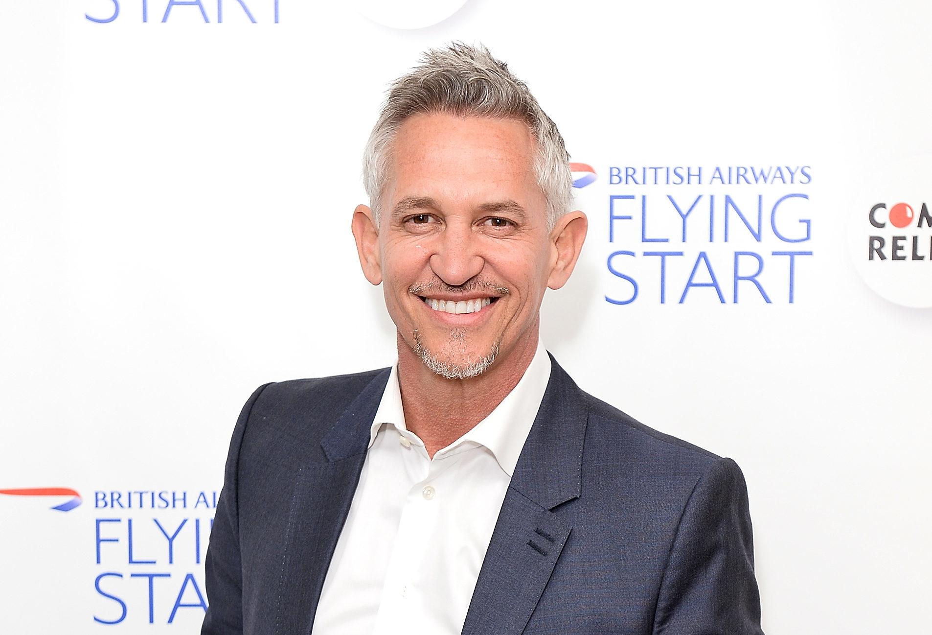 Gary Lineker (Jeff Spicer/Getty Images for British Airways)