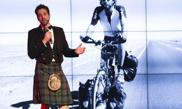 NRS Scottish Sporting Awards - Sporting Ambassador Award Sponsored by Ennova Law - Mark Beaumont (Jamie Williamson)
