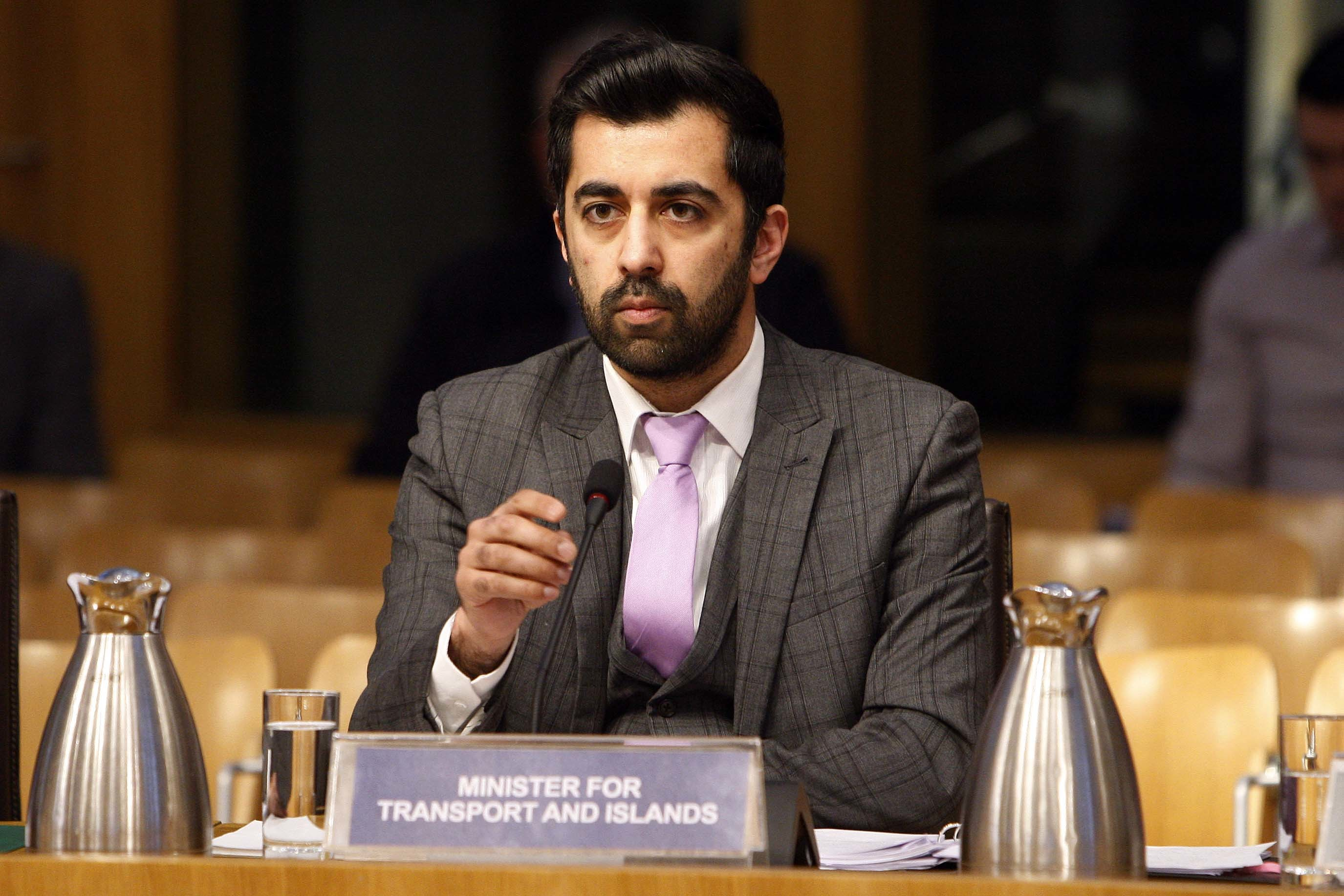 Humza Yousaf (Andrew Cowan/Scottish Parliament)