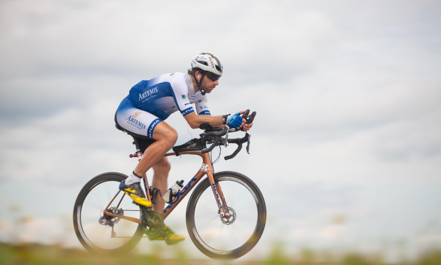 Mark Beaumont cycles in Baykal, Russia (Mark Beaumont/SWNS)