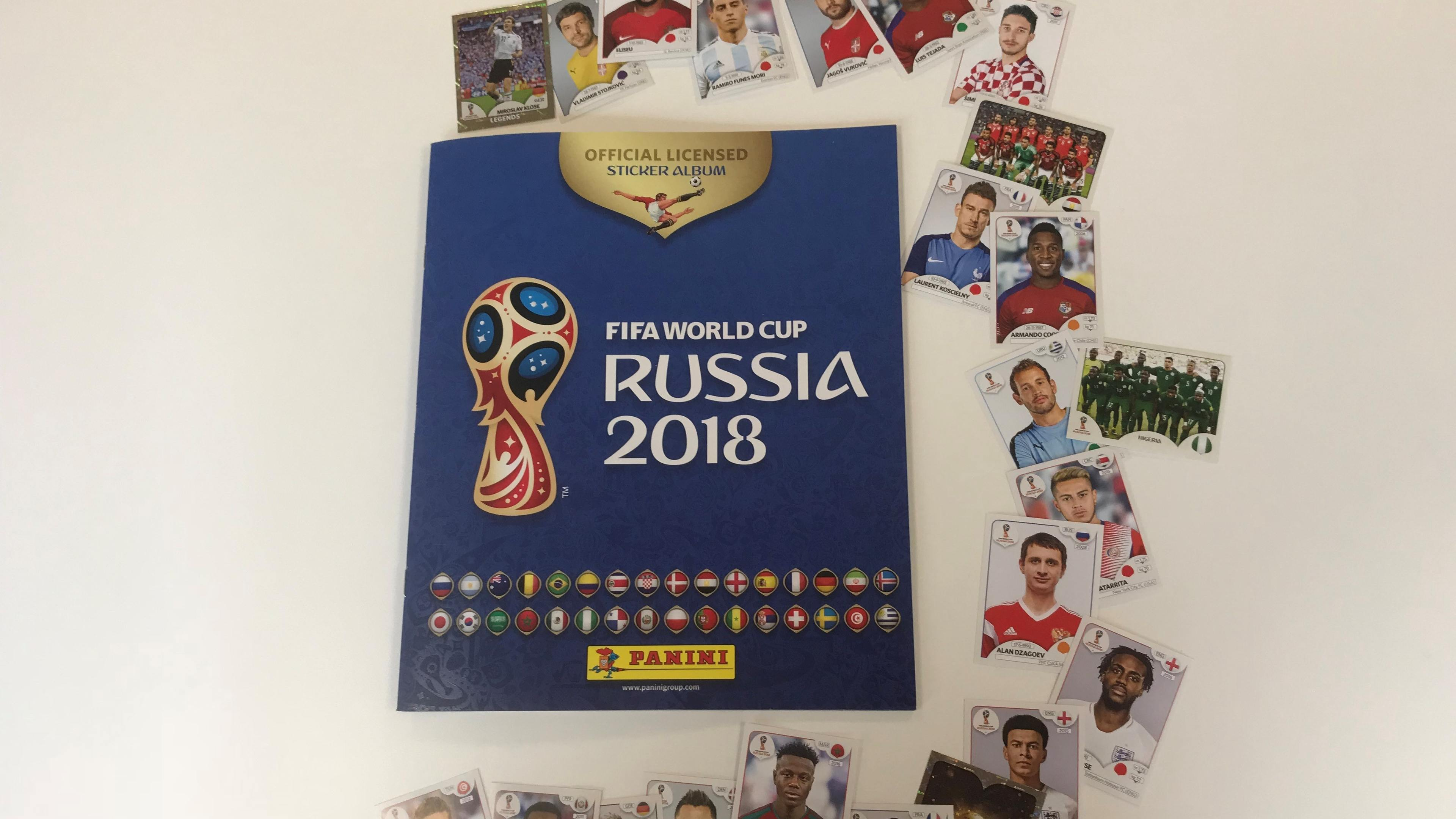 Maths Expert Works Out Staggering Average Cost Of Filling Panini World Cup Sticker Al