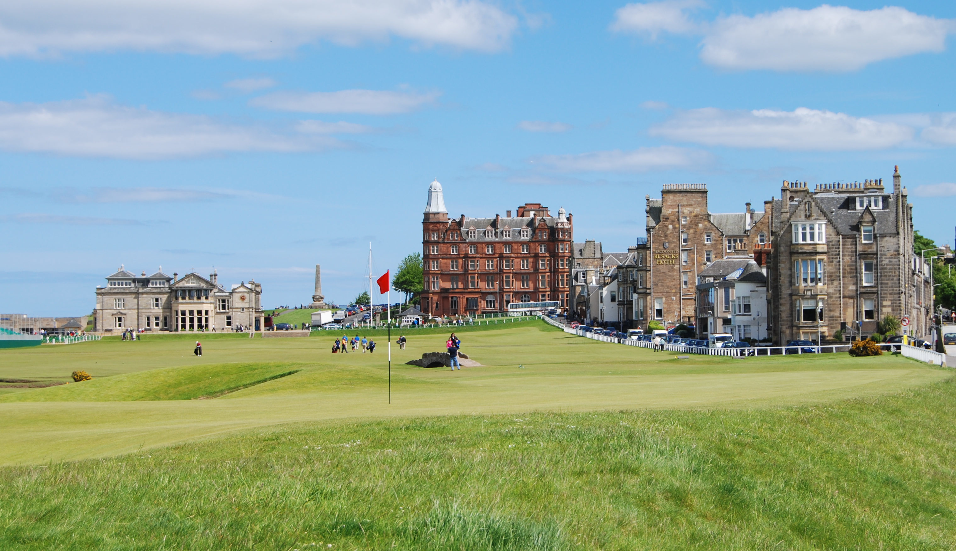 A view of the old course at St. Andrews (Getty Images)