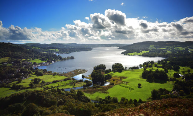Loughrigg Fell, Lake Windermere (Getty Images/iStock)