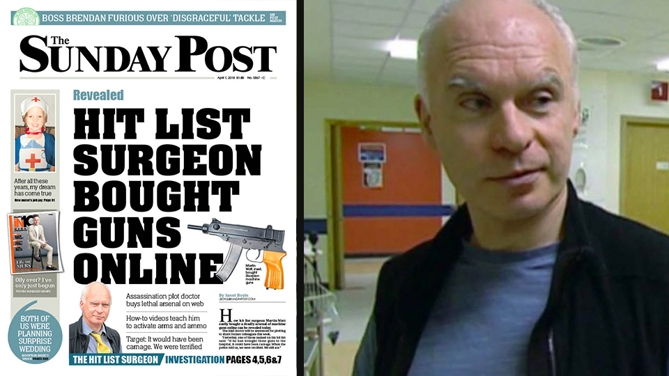In Sunday's paper we told how Martin Watt easily bought guns online