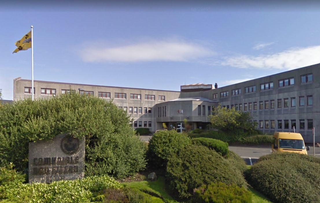 Comhairle Nan Eilean Siar offices in Stornoway (Google Maps)