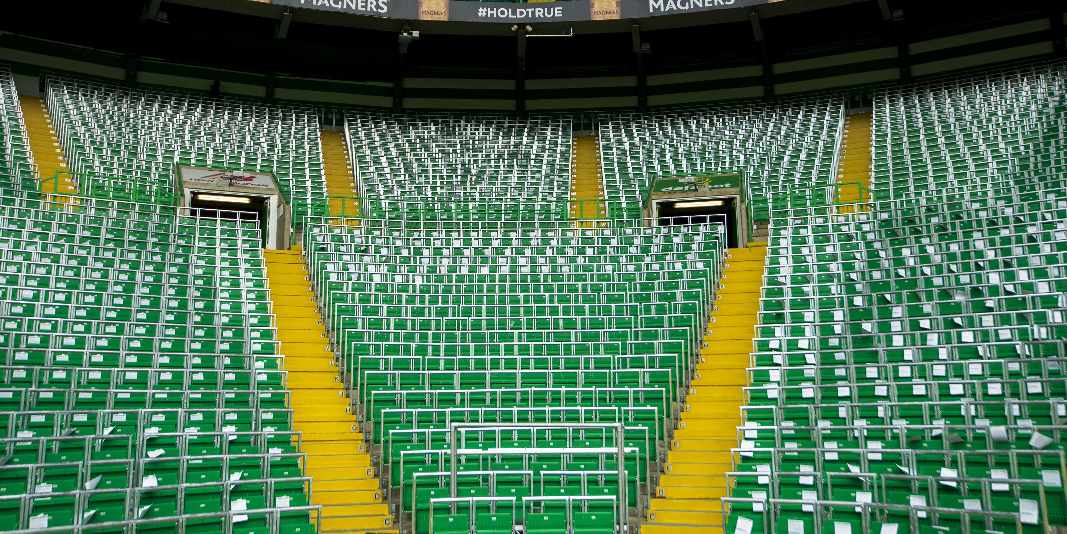 Safe standing at Celtic Park (SNS)