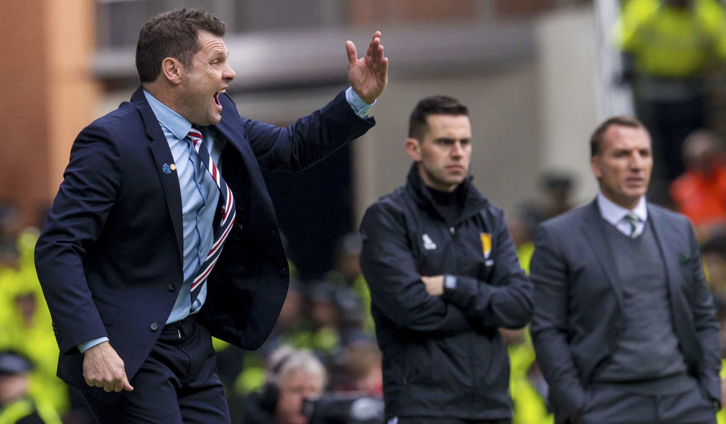 Rangers manager Graeme Murty (SNS Group / Alan Harvey)