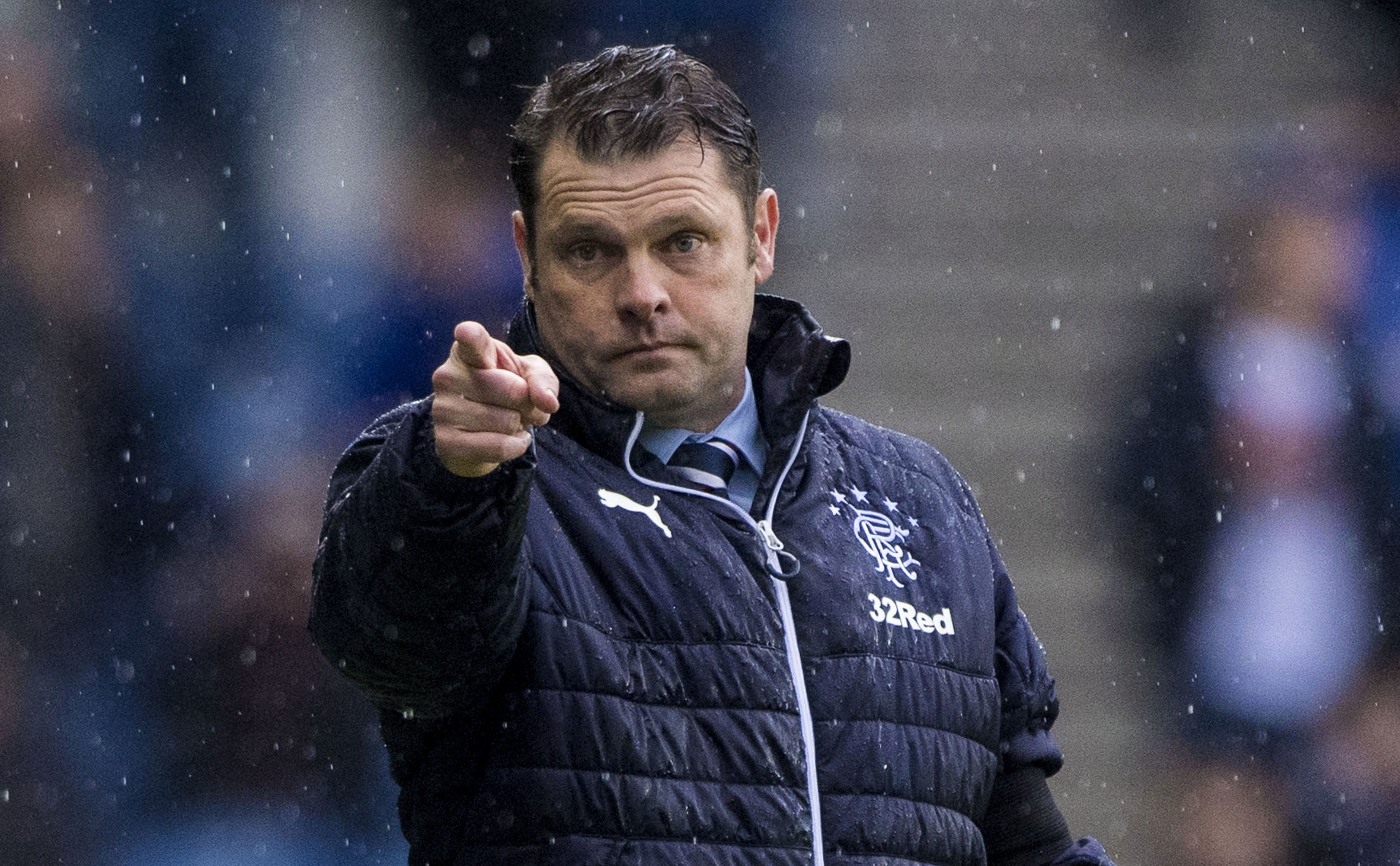 Rangers manager Graeme Murty (SNS Group / Bill Murray)