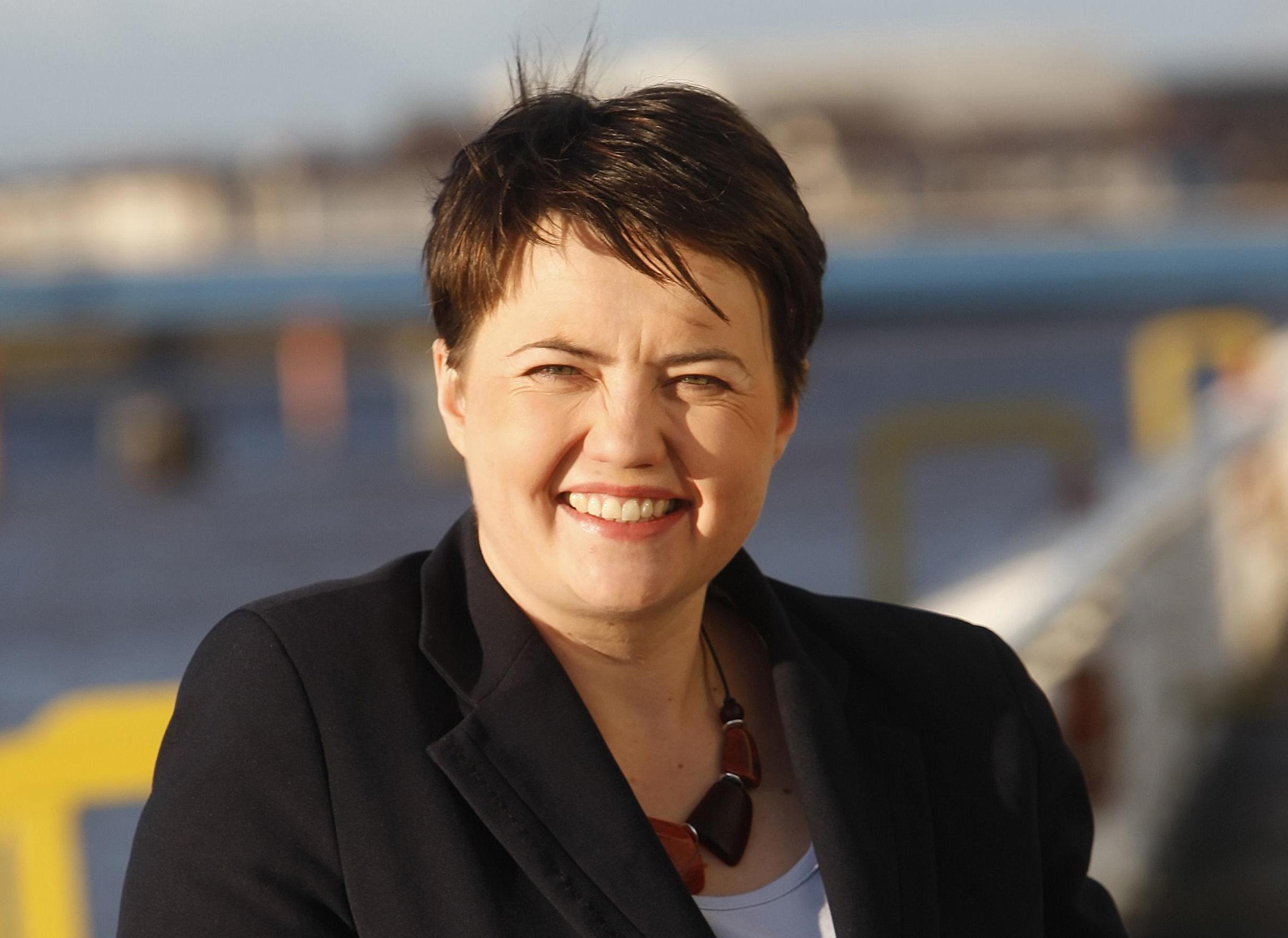 Scottish Conservative leader Ruth Davidson (Danny Lawson/PA Wire)