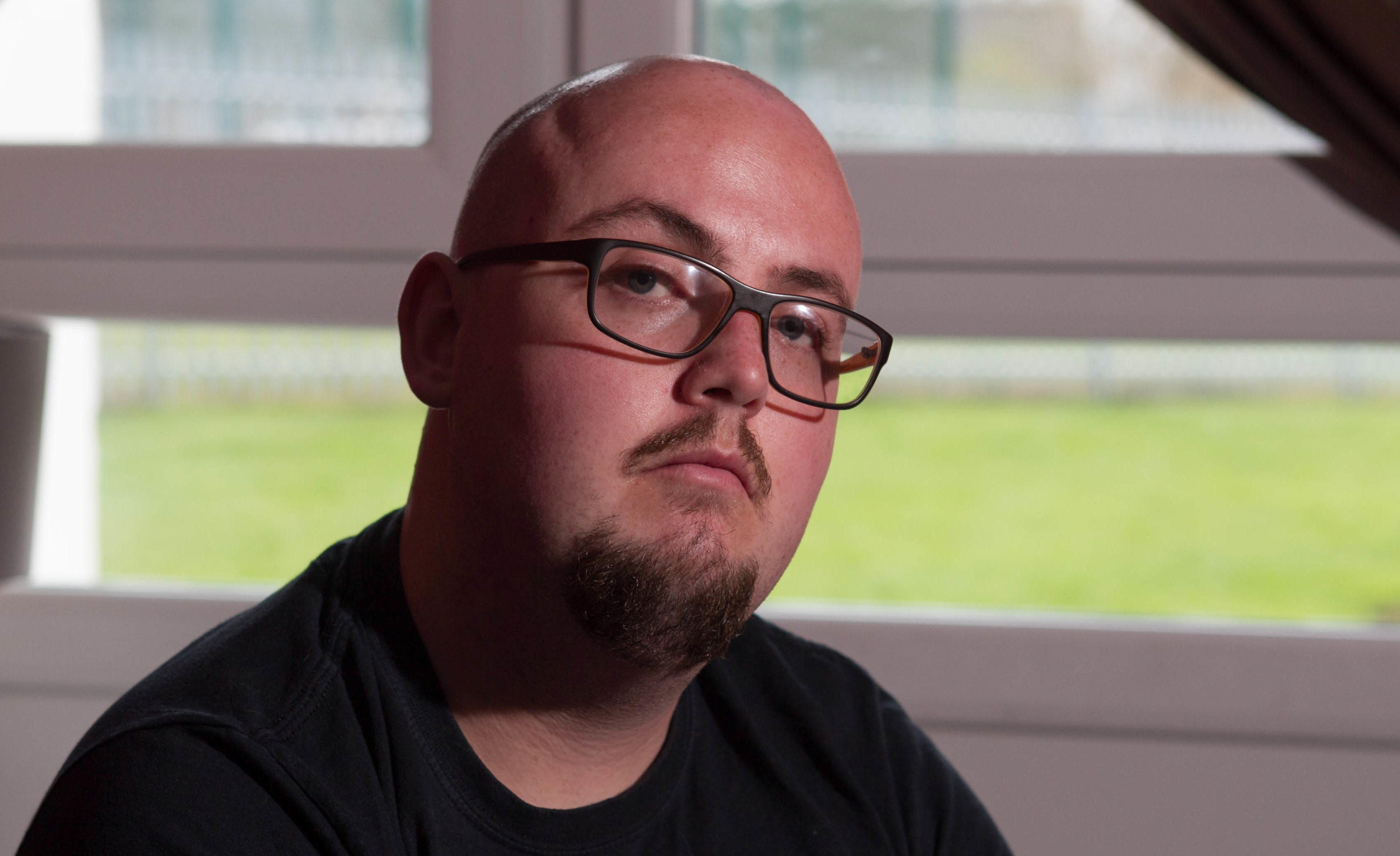 Michael says he is now scared to go outdoors as he fears being spied on by the DWP (Chris Austin / DC Thomson)