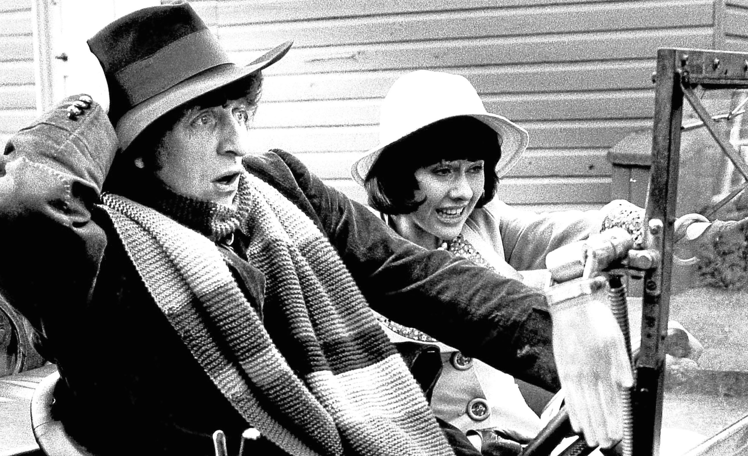 Tom Baker and Elisabeth Sladen in Doctor Who, 1974 (Allstar/BBC)