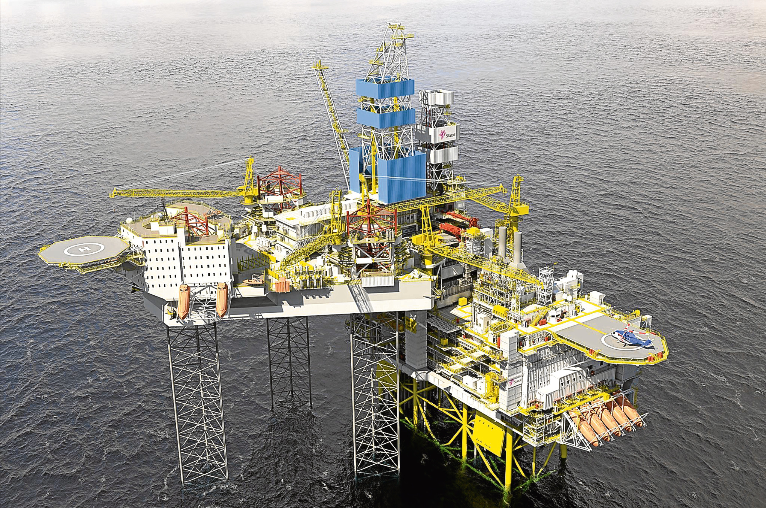 The Mariner rig