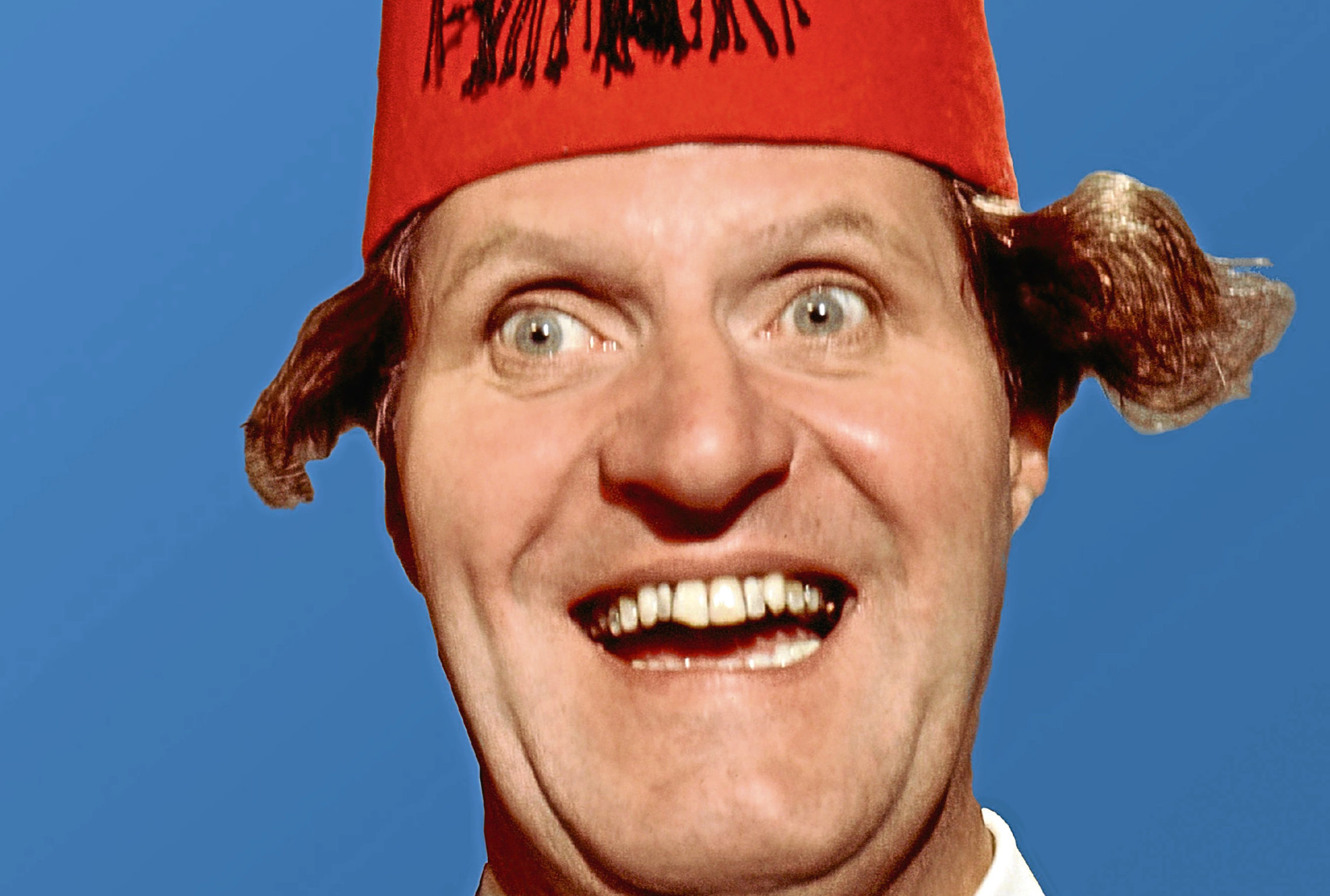 Comedian Tommy Cooper