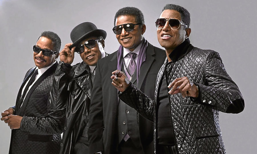 The Jackson brothers, from left, Marlon, Tito, Jackie and Jermaine (AP Photo/A&E, Kwaku Alson)