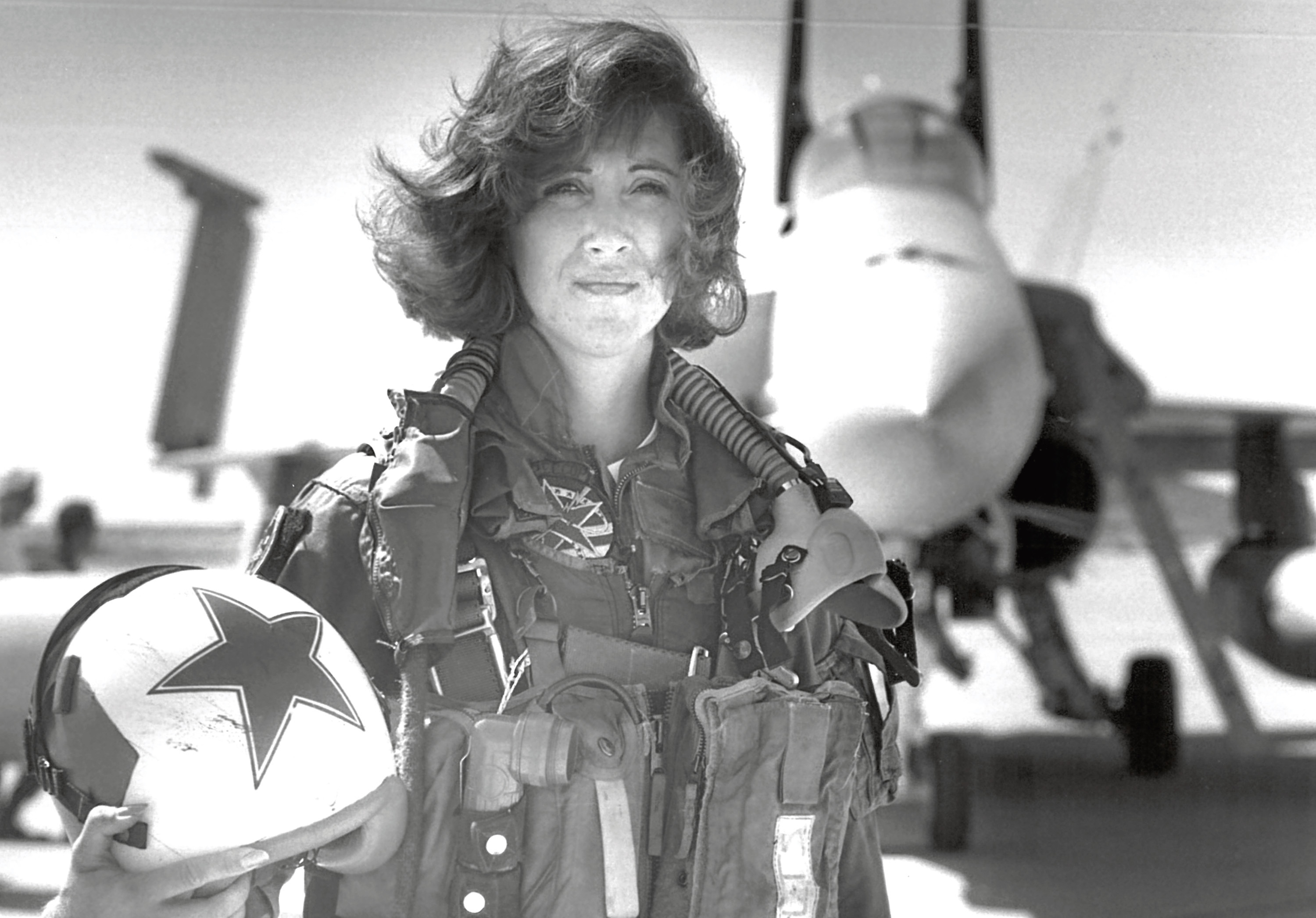 Southwest Airlines Captain Tammie Jo Shults (Thomas P. Milne/U.S. Navy via AP)