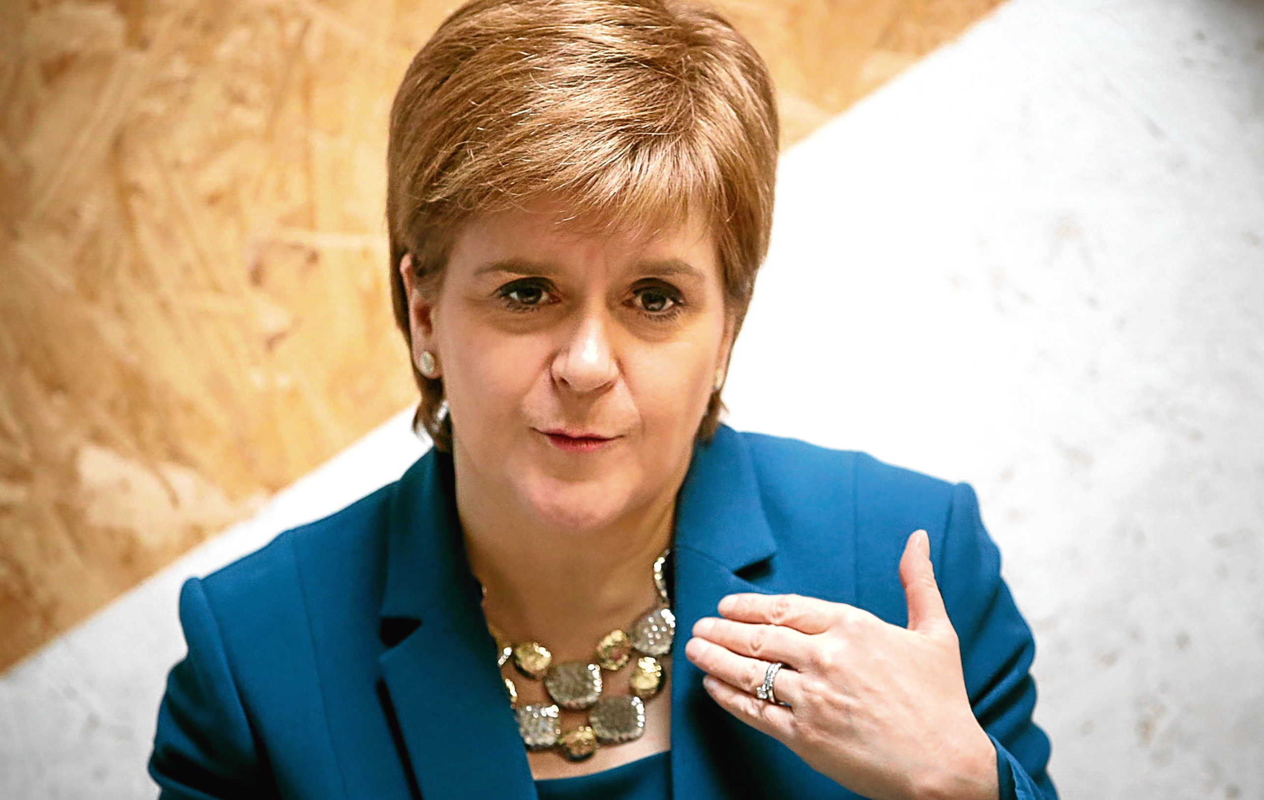 Nicola Sturgeon (Jane Barlow/PA Wire)