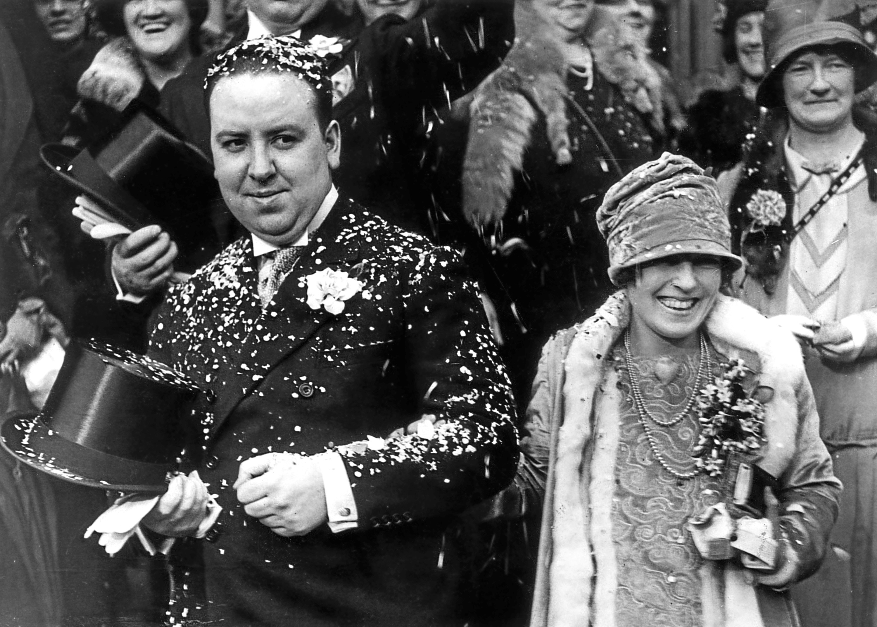 Perhaps Hitchcock's greatest achievement was lifelong marriage to Alma (Evening Standard/Getty Images)