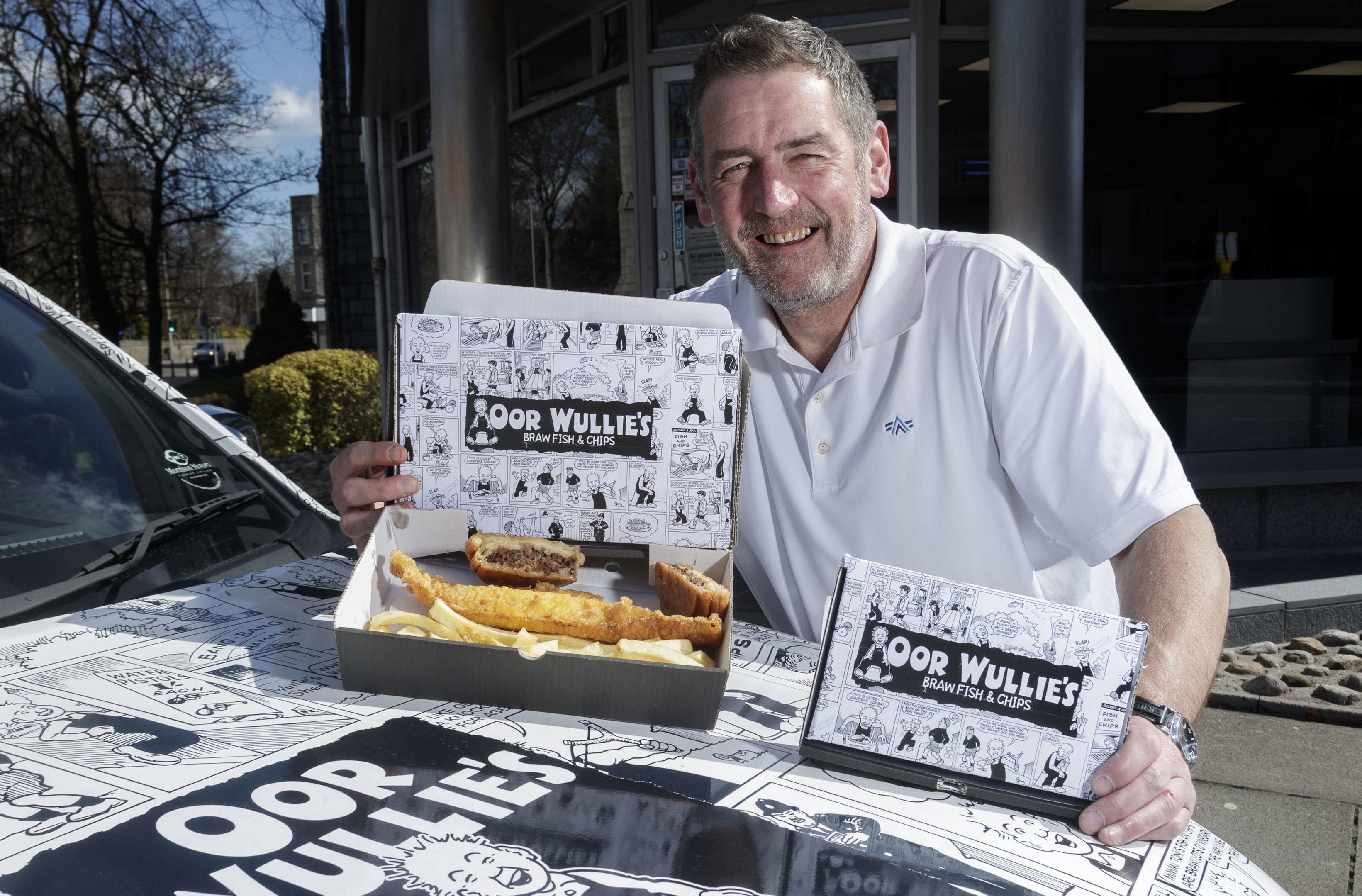 Owner Craig Thomson will run the revamped chippie (Derek Ironside / Newsline Media)