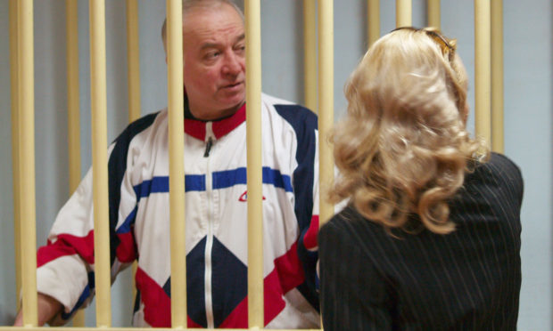 Sergei Skripal during a hearing at the Moscow District Court. (TASSTASS via Getty Images)