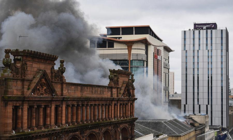 The Sauchiehall St blaze (Jeff J Mitchell/Getty Images)