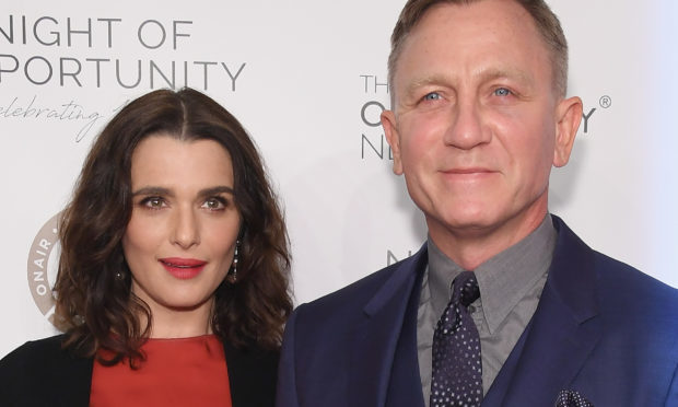 Rachel Weisz and Daniel Craig (Dimitrios Kambouris/Getty Images)