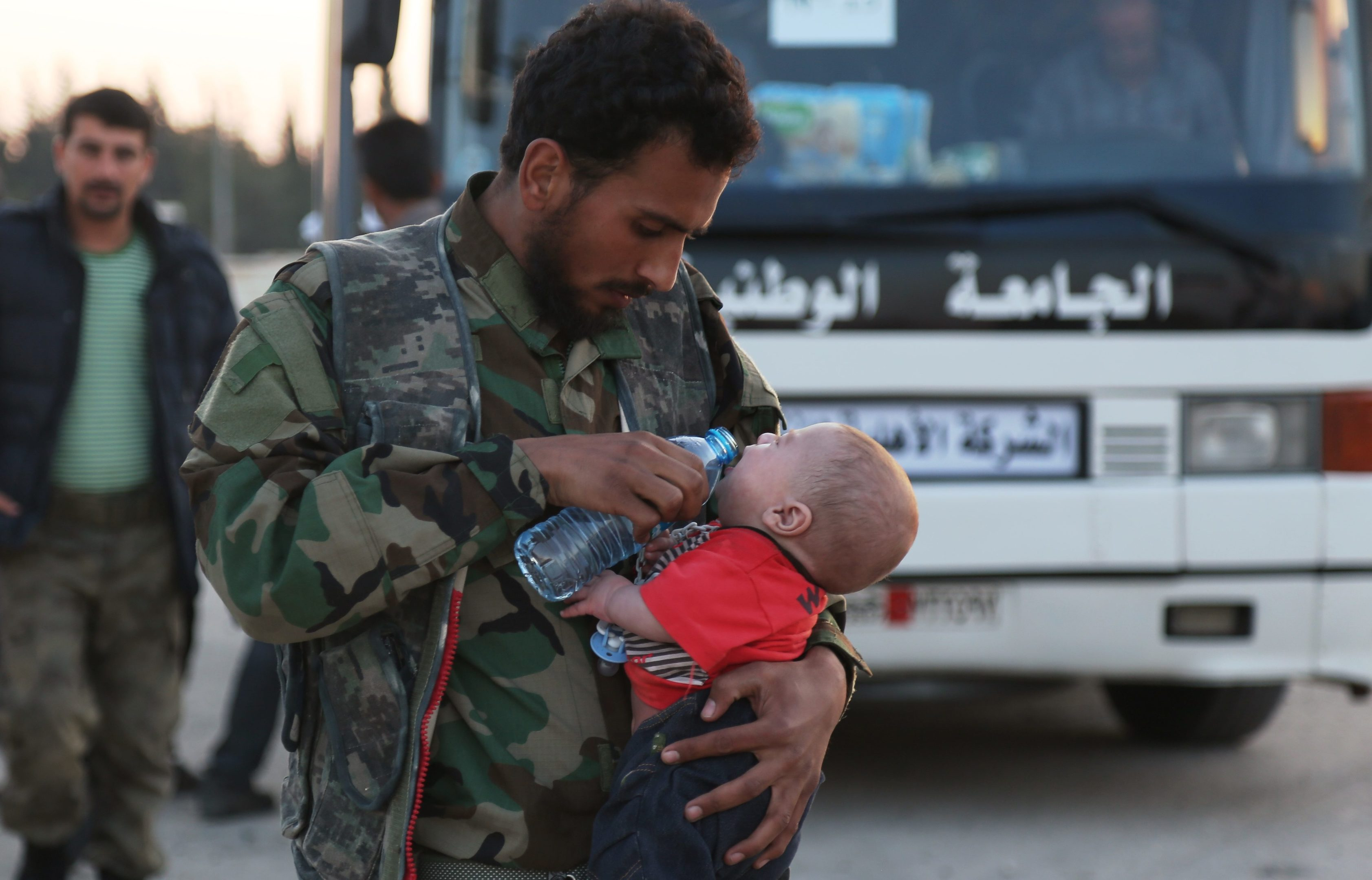 Even before the alleged chemical attack, Douma was under a crippling  siege and desperately in need of humanitarian supplies (Beha el Halebi/Anadolu Agency/Getty Images)