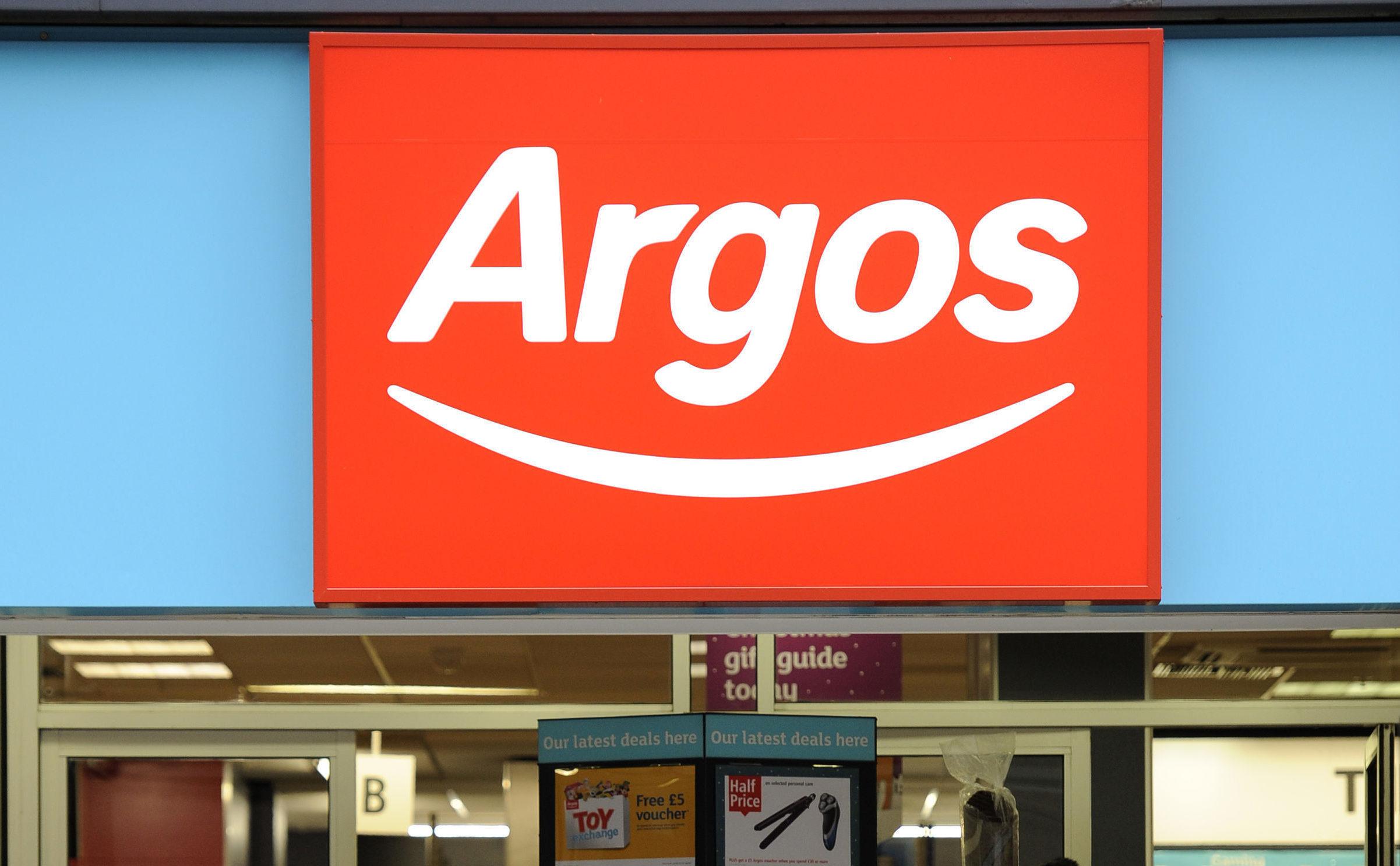 Argos (Jonathan Brady/PA Wire)