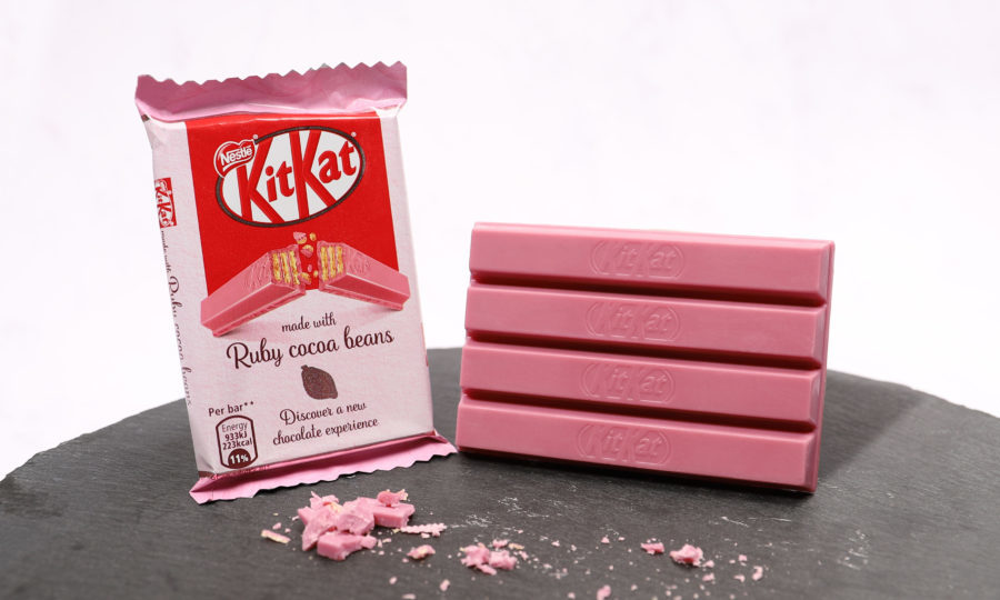 Kitkat With Naturally Pink Chocolate To Launch In Uk