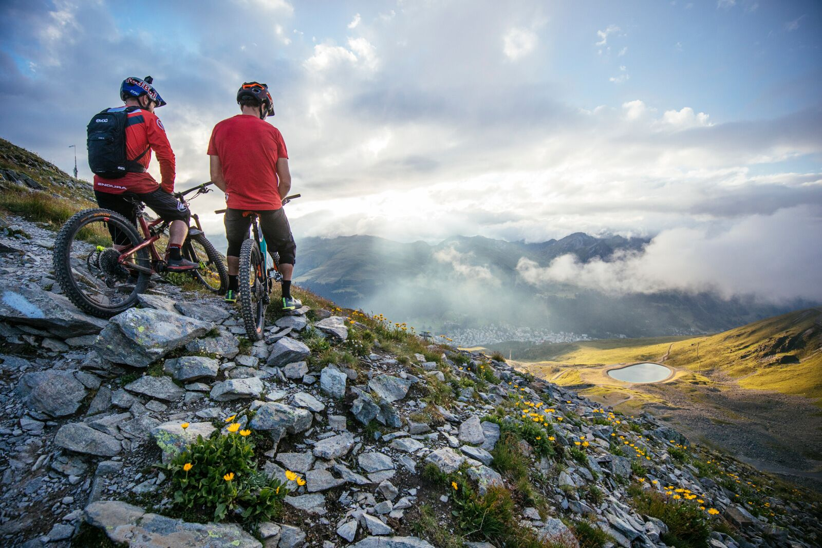 Danny MacAskill and Cladio Caluori explore Swiss cycle tracks in a new video (Martin Blissig)