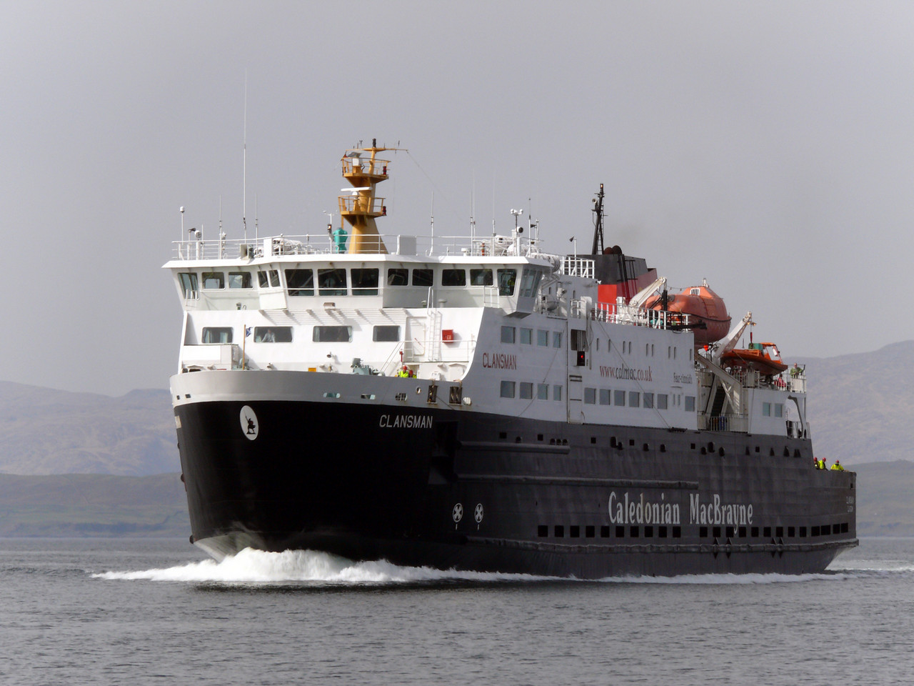 A delay in finishing repairs to Oban-based MV Clansman has had a knock-on effect